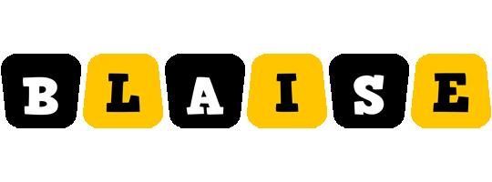 Blaise boots logo