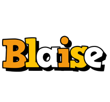 Blaise cartoon logo