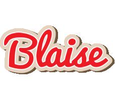 Blaise chocolate logo