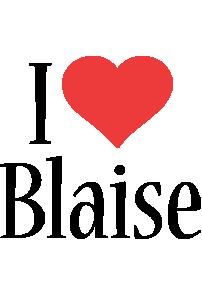 Blaise i-love logo