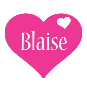 Blaise love-heart logo