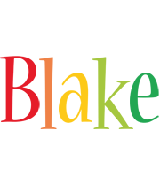 Blake birthday logo