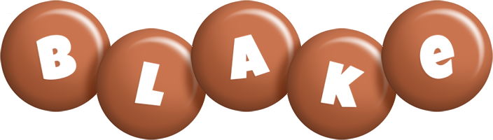 Blake candy-brown logo