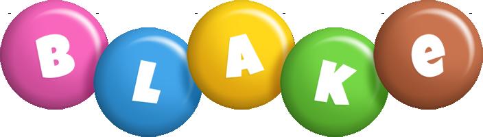 Blake candy logo