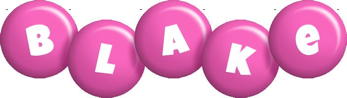 Blake candy-pink logo