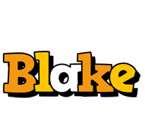 Blake cartoon logo