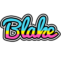 Blake circus logo