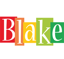 Blake colors logo