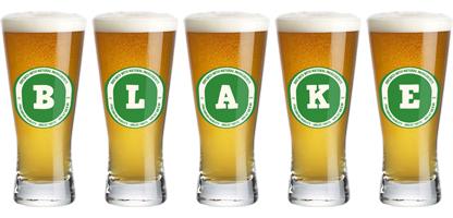 Blake lager logo