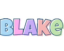 Blake pastel logo
