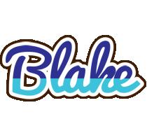 Blake raining logo