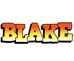 Blake sunset logo