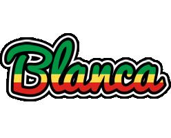 Blanca african logo