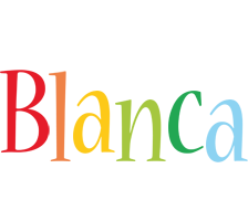 Blanca birthday logo