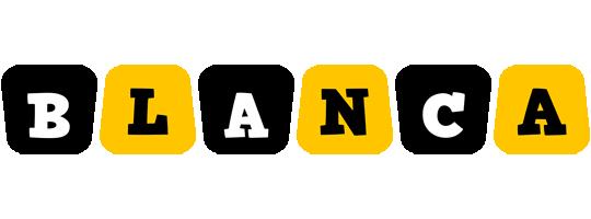 Blanca boots logo