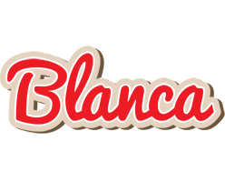 Blanca chocolate logo