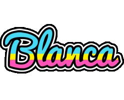 Blanca circus logo