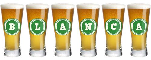 Blanca lager logo