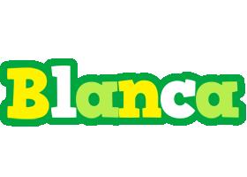 Blanca soccer logo