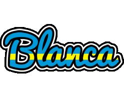 Blanca sweden logo