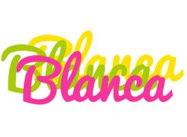 Blanca sweets logo