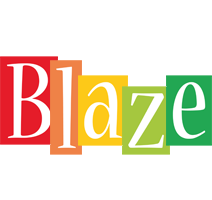 Blaze colors logo