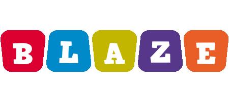 Blaze kiddo logo