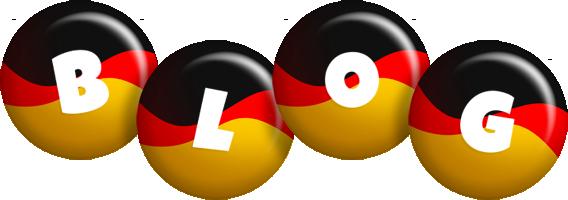 Blog german logo