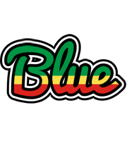 Blue african logo