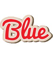 Blue chocolate logo