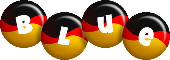 Blue german logo