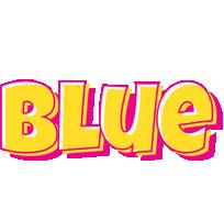 Blue kaboom logo