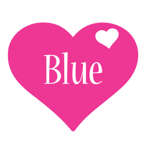 Blue love-heart logo