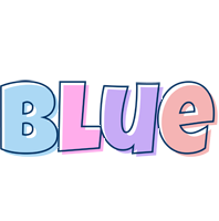 Blue pastel logo