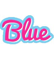 Blue popstar logo