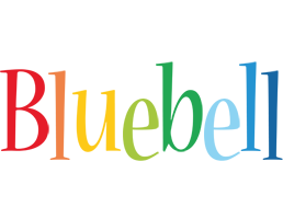 Bluebell birthday logo