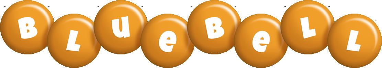 Bluebell candy-orange logo