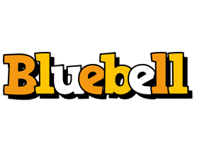 Bluebell cartoon logo