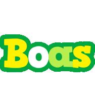 Boas soccer logo