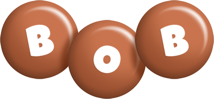 Bob candy-brown logo