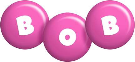 Bob candy-pink logo
