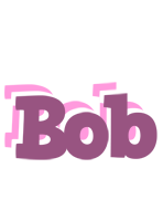 Bob relaxing logo