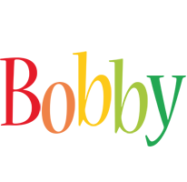 Bobby birthday logo