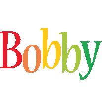 Bobby birthday logo