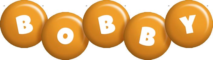Bobby candy-orange logo