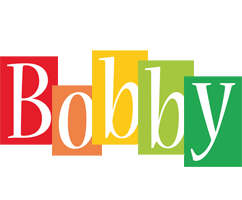 Bobby Logo Name Logo Generator Smoothie Summer Birthday Kiddo