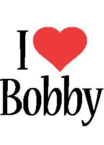 Bobby i-love logo