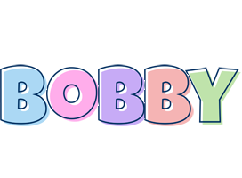 Bobby pastel logo