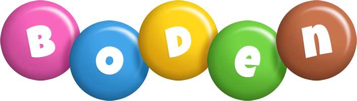 Boden candy logo