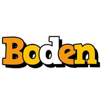 Boden cartoon logo